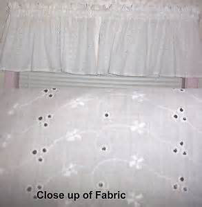 white eyelet curtains ebay