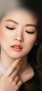 hn65-asian-girl-face-dark-dress-wallpaper