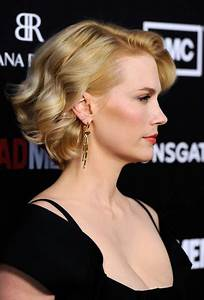 More Pics of January Jones Curled Out Bob (15 of 32 ...