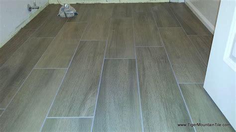 laying porcelain tile laying tile in random pattern studio design gallery