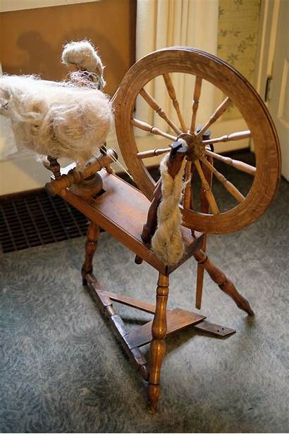 Spinning Wheel Antique Wooden Tools Sold