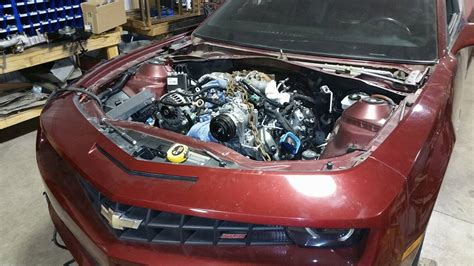 2010 Camaro with a Duramax V8 – Engine Swap Depot