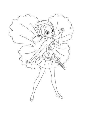 chrysella coloring page supercoloringcom