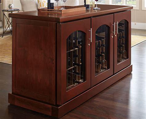 la cache wine cabinets wine credenza cabinets le cache premium wine cabinets