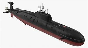 Nuclear Powered Attack Submarine Model