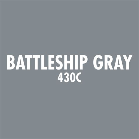 battleship gray color custom vinyl decals standout stickers