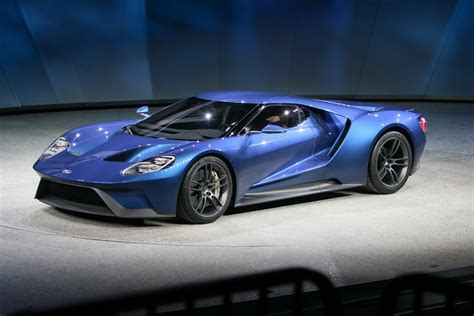 Ford Unveils 600+ Hp Twin-turbo Ecoboost V6 Gt Supercar At