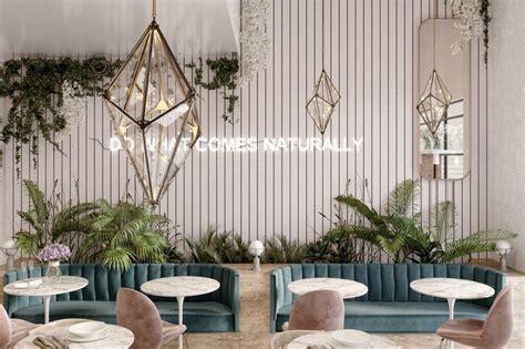 flower shop  cafe  jeddah  behance cafe interior