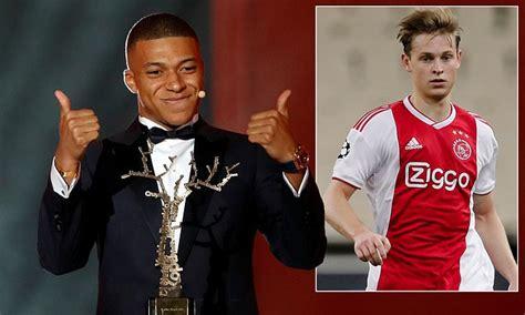 Osamnaestogodišnjeg francuza već nazivaju novim tjerijem anrijem. Kylian Mbappe says Frenkie De Jong would be a welcome addition to PSG