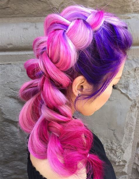 And Purple Hairstyles by 20 Hairstyles You Will Want To Rock Immediately