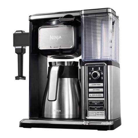 The ninja coffee maker is versatile in the choices it gives you. Ninja Coffee Bar Brewer System with Stainless Thermal ...