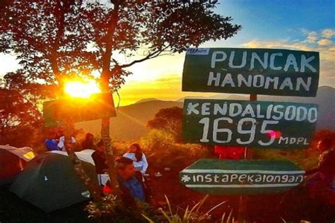 wisata gunung kendalisodo pekalongan