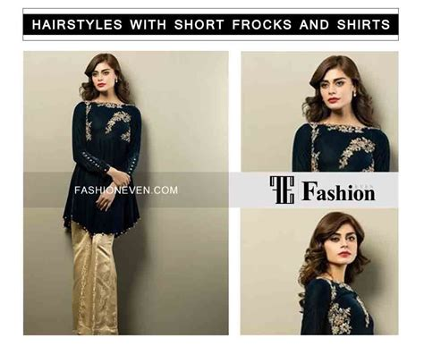 Eid Party Hairstyles With Frocks And Shirts 2021-2022 ...