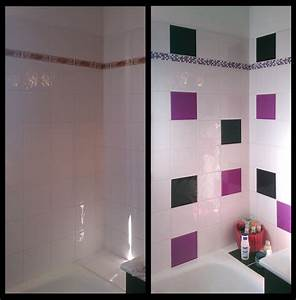 carrelage salle de bain vert d eau kirafes With carrelage salle de bain vert d eau