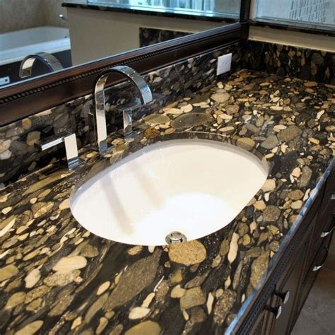 beautiful bathroom with granite countertops pebble creek