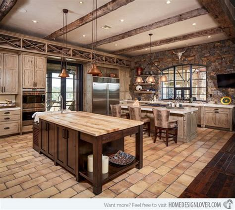 country western kitchen decor 15 interesting rustic kitchen designs rustic kitchen 6240
