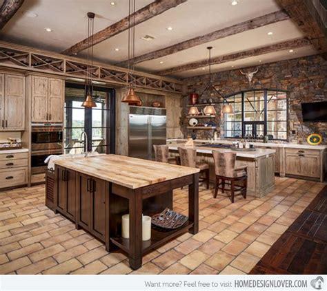 country western kitchen decor 15 interesting rustic kitchen designs rustic kitchen 6240