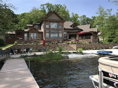 Luxury Timber Frame Lake House With A Beach Homeaway