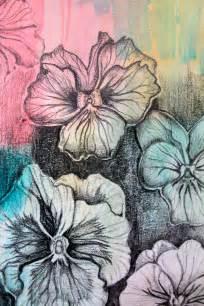 Medium Flower Drawings