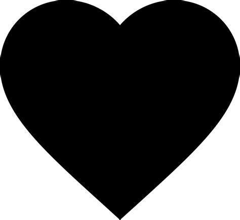 Empty, favorite, heart, rate svg vector icon. Heart Svg Png Icon Free Download (#403192 ...