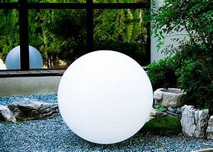Boule Lumineuse Exterieur : lampe d 39 ambiance sph re lumineuse zen par link ~ Teatrodelosmanantiales.com Idées de Décoration