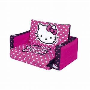 double canape depliable hello kitty achat vente With tapis de marche avec canape enfant mickey