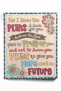 Glory Haus Jeremiah 29:11 Canvas from Mississippi by The