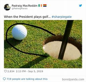 Trump Shows A Fake Hurricane Map Altered With A Sharpie, Inspires 30 Hilarious Memes | Bored Panda