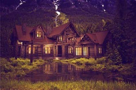 amazing log cabin dream homes monster house plans blog