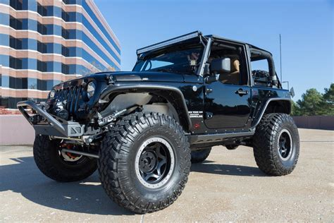 custom supercharged  jeep wrangler rubicon sport utility monster  sale