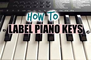 how to label your keyboard piano with letters black With keyboard piano key letters