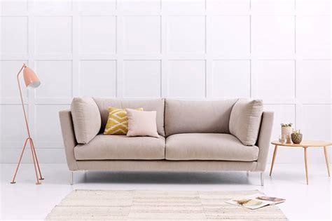 Pale Pink Sofa by Fabulous Pretty Pale Pink Fabric Sofas Homegirl
