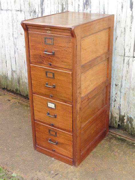4 drawer mahogany filing cabinet large edwardian 4 drawer mahogany filing cabinet 311390