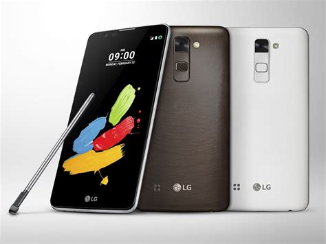 lg stylus  announced   exceptionally priced android