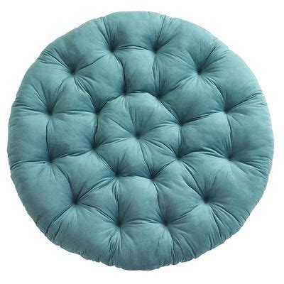 papasan cushion plush teal for the home