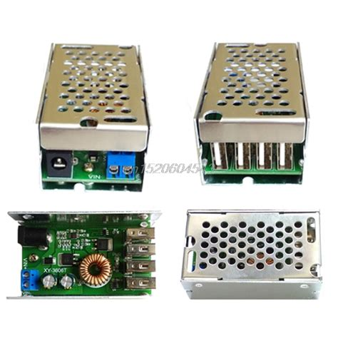 dc dc power supply module 24v 12v to 5v 5a converter replace lm2596s r02 drop ship in switching