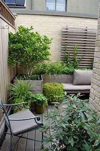 Kleine terrassen garten stadt baum topf gestaltungstipps for Kleine terrasse