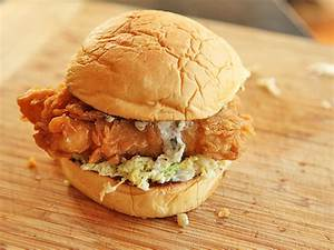 How to Make Crisp Fried Fish Sandwiches With Creamy Slaw ...