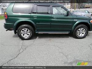 Sport 2000 Gray : new zealand green metallic 2000 mitsubishi montero sport limited 4x4 gray interior ~ Gottalentnigeria.com Avis de Voitures