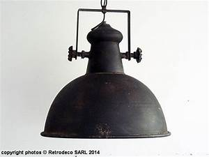 Suspension Industrielle Noire : suspension industrielle noire d co atelier seb13602 ~ Teatrodelosmanantiales.com Idées de Décoration