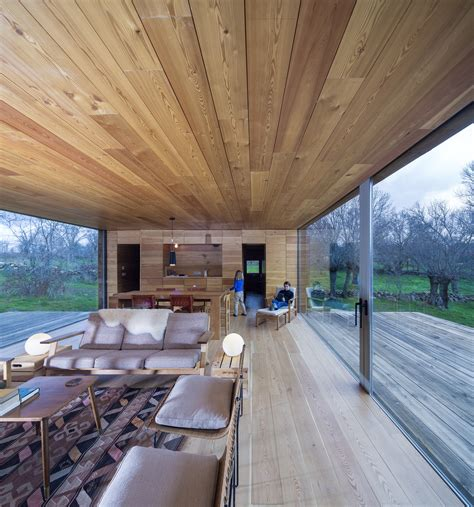 Open Cabin Open Cabin Design With Cozy Wood Interiors