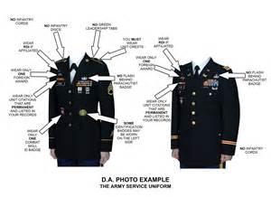 Army Dress Blue Uniform Guide Measurements