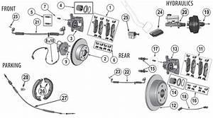 Jeep U00ae Wrangler Jk Brake Parts   U0026 39 07