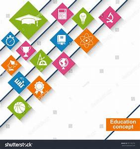 Education Science Concept Abstract Education Background ...