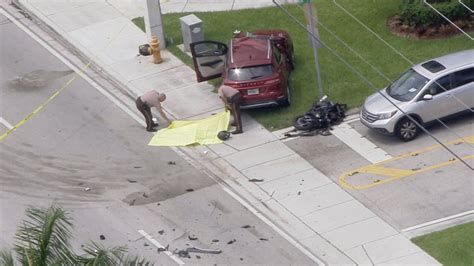 Motorcyclist Killed In Crash In Southwest Miami-dade