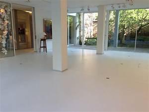 Resine Sol Blanc Brillant : sol en r sine emb ~ Premium-room.com Idées de Décoration