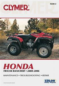 Honda Trx350 Rancher Series Atv  2000
