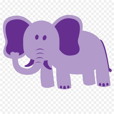 library  purple baby elephant svg transparent stock png files clipart art