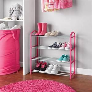 Mainstays, Kids, Shoe, Rack, -, Pink, -, Walmart, Com