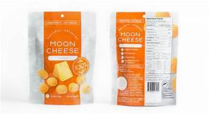 Slant design moon cheese for Moon cheese packaging